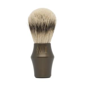 pennello da barba professionale made in Italy bronzo atto primo